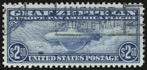 Sale Number 946, Lot Number 1352, Air Post$2.60 Graf Zeppelin (C15), $2.60 Graf Zeppelin (C15)