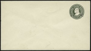 Sale Number 946, Lot Number 1518, Postal Stationery2c on 1c Green on White, Die 1, Surcharge Ty. 4 (U465), 2c on 1c Green on White, Die 1, Surcharge Ty. 4 (U465)