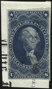 Sale Number 946, Lot Number 1529, Revenues$3.50 Inland Exchange, Imperforate (R87a), $3.50 Inland Exchange, Imperforate (R87a)