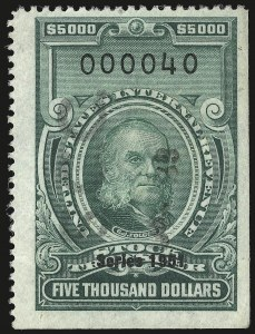 Sale Number 946, Lot Number 1577, Revenues$5,000.00 Green, Series of 1951 (RD363), $5,000.00 Green, Series of 1951 (RD363)