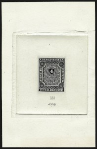 Sale Number 946, Lot Number 1591, RevenuesA. L. Helmbold's, 4c Black, Large Die Proof on India (RS111P1), A. L. Helmbold's, 4c Black, Large Die Proof on India (RS111P1)