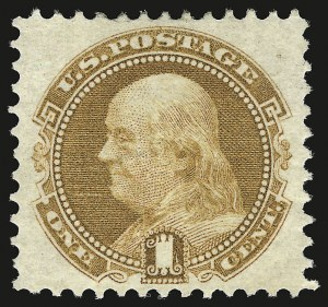 Sale Number 946, Lot Number 452, 1869 Pictorial Issue (Scott 112-122)1c Buff (112), 1c Buff (112)
