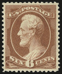 Sale Number 946, Lot Number 602, 1881-83 American Bank Note Co. Issues (Scott 205-211B)6c Deep Brown Red (208a), 6c Deep Brown Red (208a)