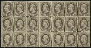 Sale Number 946, Lot Number 604, 1881-83 American Bank Note Co. Issues (Scott 205-211B)10c Brown (209), 10c Brown (209)