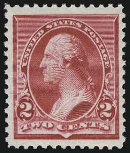 Sale Number 946, Lot Number 615, 1890-93 Issue (Scott 219-229)2c Carmine (220), 2c Carmine (220)