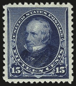 Sale Number 946, Lot Number 622, 1890-93 Issue (Scott 219-229)15c Indigo (227), 15c Indigo (227)