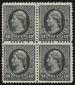 Sale Number 946, Lot Number 626, 1890-93 Issue (Scott 219-229)30c Black (228), 30c Black (228)