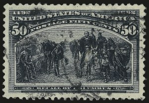 Sale Number 946, Lot Number 687, 1893 Columbian Issue (Scott 230-245)50c Columbian (240), 50c Columbian (240)