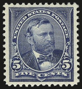 Sale Number 946, Lot Number 771, 1897-1903 Change of Colors (Scott 279-284)5c Dark Blue (281), 5c Dark Blue (281)
