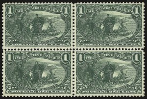 Sale Number 946, Lot Number 779, 1898 Trans-Mississippi Issue (Scott 285-293)1c Trans-Mississippi (285), 1c Trans-Mississippi (285)