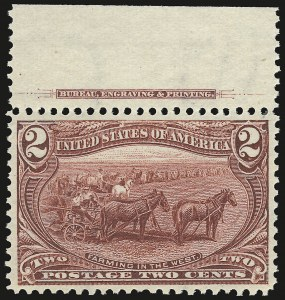 Sale Number 946, Lot Number 780, 1898 Trans-Mississippi Issue (Scott 285-293)2c Trans-Mississippi (286), 2c Trans-Mississippi (286)
