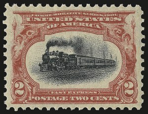 Sale Number 946, Lot Number 813, 1901 Pan-American Issue (Scott 294-299)2c Pan-American (295), 2c Pan-American (295)