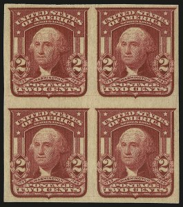 Sale Number 946, Lot Number 890, 1902-08 Issues (Scott 300-322)2c Lake, Ty. II, Imperforate (320a), 2c Lake, Ty. II, Imperforate (320a)