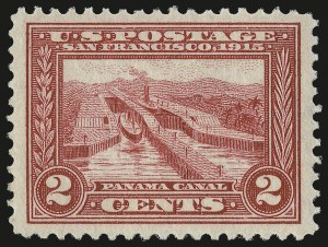 Sale Number 946, Lot Number 996, 1913-15 Panama-Pacific Issue (Scott 397-404)2c Panama-Pacific (398), 2c Panama-Pacific (398)