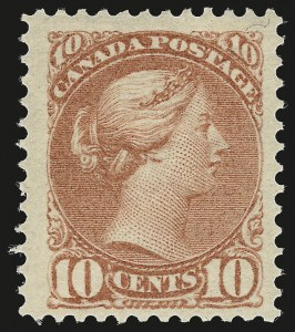 Sale Number 949, Lot Number 1047, Canada1888, 10c Dull Rose (45a), 1888, 10c Dull Rose (45a)