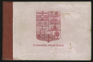 Sale Number 949, Lot Number 1053, Canada1900, 2c Carmine, Booklet (77b), 1900, 2c Carmine, Booklet (77b)