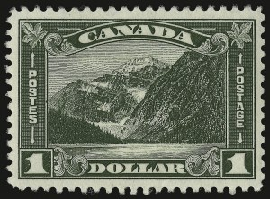 Sale Number 949, Lot Number 1065, Canada1930, $1.00 Mt. Cavell (177), 1930, $1.00 Mt. Cavell (177)