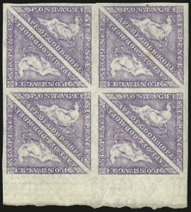 Sale Number 949, Lot Number 1091, Cape of Good Hope1863-64, 6p Purple (14; SG 20), 1863-64, 6p Purple (14; SG 20)