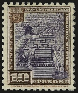Sale Number 949, Lot Number 1237, MexicoMEXICO, 1934, 5c-10p University (698-706), MEXICO, 1934, 5c-10p University (698-706)