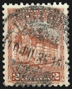 "Sale Number 949, Lot Number 1238, MexicoMEXICO, 1937, 2c Scarlet, Perf 10-1/2, Watermarked Lines and ""SECRETARIA DE HACIENDA MEXICO"" (735A), MEXICO, 1937, 2c Scarlet, Perf 10-1/2, Watermarked Lines and ""SECRETARIA DE HACIENDA MEXICO"" (735A)"