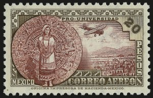 Sale Number 949, Lot Number 1239, MexicoMEXICO, 1934, 20c-20p University (C54-C61), MEXICO, 1934, 20c-20p University (C54-C61)