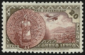 Sale Number 949, Lot Number 1240, MexicoMEXICO, 1934, 20c-20p University (C54-C61), MEXICO, 1934, 20c-20p University (C54-C61)