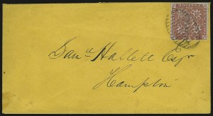 Sale Number 949, Lot Number 1249, Natal thru New BrunswickNEW BRUNSWICK, 1851, 3p Red (1), NEW BRUNSWICK, 1851, 3p Red (1)