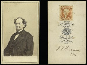 Sale Number 950, Lot Number 2015, Free Franks and SignaturesPhineas T. Barnum, Phineas T. Barnum