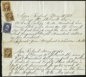 Sale Number 950, Lot Number 2186, 1861-66 Issues1c Blue (63), 1c Blue (63)