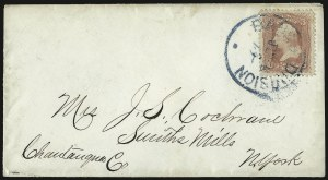 Sale Number 950, Lot Number 2194, 1861-66 Issues3c Rose (65), 3c Rose (65)