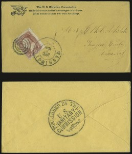 Sale Number 950, Lot Number 2202, 1861-66 Issues3c Rose (65), 3c Rose (65)