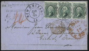 Sale Number 950, Lot Number 2209, 1861-66 Issues10c Yellow Green (68), 10c Yellow Green (68)