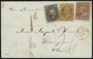 Sale Number 950, Lot Number 2233, 1861-66 Issues24c Red Lilac, 30c Orange (70, 71), 24c Red Lilac, 30c Orange (70, 71)