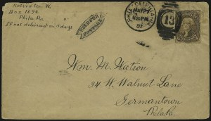 Sale Number 950, Lot Number 2249, 1861-66 Issues5c Postage Currency, 5c Postage Currency