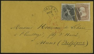 Sale Number 950, Lot Number 2251, 1861-66 Issues24c Gray (78b), 24c Gray (78b)