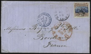 Sale Number 950, Lot Number 2351, 1869 Pictorial Issue15c Brown & Blue, Ty. I (118), 15c Brown & Blue, Ty. I (118)