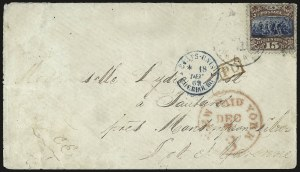 Sale Number 950, Lot Number 2353, 1869 Pictorial Issue15c Brown & Blue, Ty. II (119), 15c Brown & Blue, Ty. II (119)