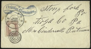 Sale Number 950, Lot Number 2475, U.S. Cover Group Lots1861-66 Issue Cover Balance, 1861-66 Issue Cover Balance