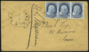 Sale Number 950, Lot Number 2494, U.S. Cover Group LotsSmall Cover Lot, Small Cover Lot