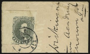 Sale Number 950, Lot Number 2918, General Issues Off Cover5c Olive Green, Stone 1 (1c), 5c Olive Green, Stone 1 (1c)
