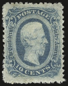 Sale Number 950, Lot Number 2924, General Issues Off Cover10c Blue, Die B, Perforated (12f), 10c Blue, Die B, Perforated (12f)
