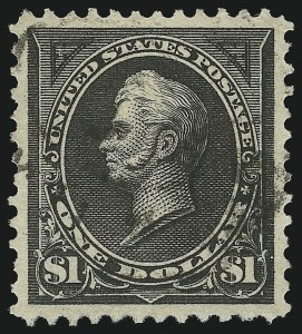 Sale Number 951, Lot Number 86, 1894-98 Bureau Issues$1.00 Black, Ty. I (276), $1.00 Black, Ty. I (276)