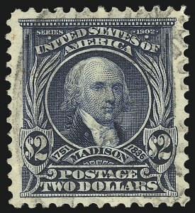 Sale Number 951, Lot Number 90, 20th Century Issues$2.00 Dark Blue (312), $2.00 Dark Blue (312)