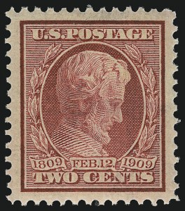 Sale Number 953, Lot Number 1010, 1909 Commemorative Issues (Scott 367-373)2c Lincoln (367), 2c Lincoln (367)