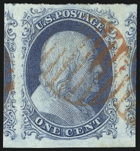 Sale Number 953, Lot Number 104, 1851-56 Issue (Scott 5-17)1c Blue, Ty. II (7), 1c Blue, Ty. II (7)