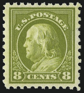 Sale Number 953, Lot Number 1184, 1916-17 Issues (Scott 462-480)8c Olive Green (470), 8c Olive Green (470)