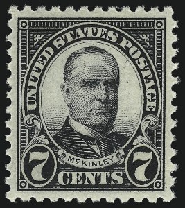 Sale Number 953, Lot Number 1303, 1922-29 Issues (Scott 551-621)7c Black (559), 7c Black (559)
