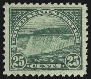 Sale Number 953, Lot Number 1311, 1922-29 Issues (Scott 551-621)25c Yellow Green (568), 25c Yellow Green (568)
