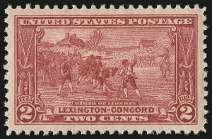 Sale Number 953, Lot Number 1339, 1922-29 Issues (Scott 551-621)2c Lexington-Concord (618), 2c Lexington-Concord (618)