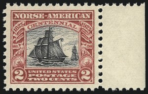 Sale Number 953, Lot Number 1344, 1922-29 Issues (Scott 551-621)2c Norse-American (620), 2c Norse-American (620)